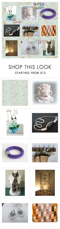 """Etsy Love by A Floral Affair"" by afloralaffair-1 ❤ liked on Polyvore featuring interior, interiors, interior design, home, home decor, interior decorating, Timorous Beasties, WALL, rustic and vintage"