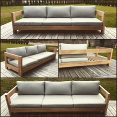 Outdoor Sectional, Sectional Sofa, Outdoor Furniture, Outdoor Decor, Home Decor, Homemade Home Decor, Modular Sofa, Corner Sofa, Decoration Home