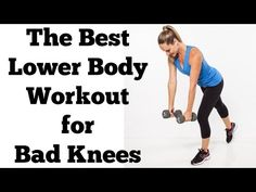 Lower body workouts don't have to strain your joints. Try this 15 minute knee-friendly routine and take pressure off bad knees.