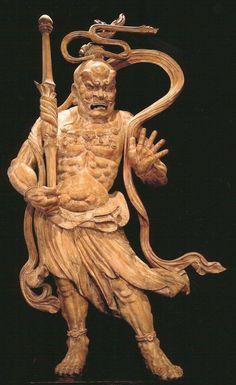 Pair of Temple Figures, Nio, Japan, Late Muromachi to Early Edo Period 1
