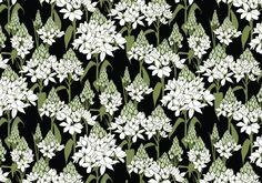 Moon Garden Pattern | Agnes & Hoss: pattern design, illustration, and interiors