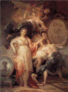 Alegoría de la Ciudad de Madrid - Francisco de Goya