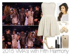 """""""2015 VMA's with Fifth Harmony"""" by inyene105 ❤ liked on Polyvore featuring Tom Ford, Stila, Rifle Paper Co, Loushelou and Aéropostale"""