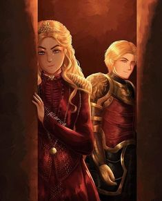 Sisters Of Silence, Game Of Trone, Cersei And Jaime, Cersei Lannister, Fire And Ice, The Funny, Fantasy Art, Princess Zelda, Animation