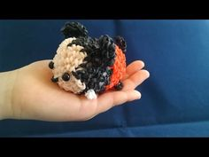 かぎ編みで編む(only hook)ツムツム(TSUM TSUM) ミッキーマウス(Mickey Mouse)レインボールーム(Rainbow loom) - YouTube