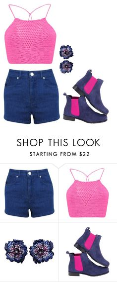 """Untitled #162"" by misty-green-1 ❤ liked on Polyvore featuring Miss Selfridge and Boohoo"