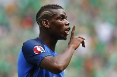Whisper it, but we know what Pogba does to keep cool on a day off…