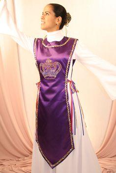 Purple worship dance Ephod Rejoice dance ministries