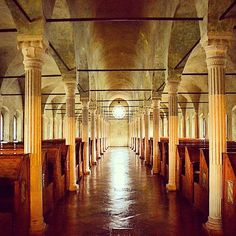 Biblioteca Malatestiana, Cesena - Instagram by nicole_pasini