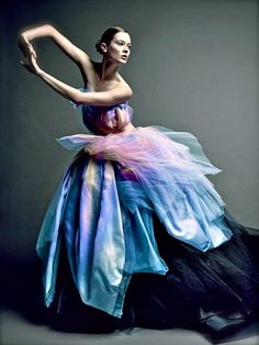 "Jac Jagaciak, Christian Dior 2012 ""Grand Bal Haute Couture"" Watches  Photographer: Patrick Demarchelier"