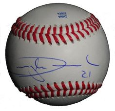 """Candy Maldonado Autographed ROLB Baseball Featuring """"Candy Man"""" Nickname Inscription, San Francisco Giants, Toronto Blue Jays, Proof Photo by Southwestconnection-Memorabilia. $54.99. This is a Candy Maldonado autographed Rawlings official league baseball with """"Candy Man"""" nickname inscription! Candy signed the ball in blue ballpoint pen. Check out the photo of Candy signing for us. Proof photo is included for free with purchase. Please click on images to enlarge."""