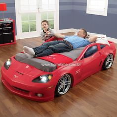 Corvette Racing Car Bed Toddler To Single Bed Unique Corvette Bedroom