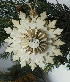 Paper Snowflake by Brandywineboutique, via Flickr
