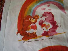 Items similar to Care Bears American Greetings Flat Sheet Carebears Bedsheet Fabric Material Flatsheet on Etsy Flat Sheets, Bed Sheets, American Greetings, Care Bears, Fabric Material, Fantasy, Unique Jewelry, Handmade Gifts, Etsy