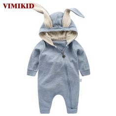 c7f7f475474 1st Newborn Baby Girls Boys Clothing Romper Cotton Long Sleeve Jumpsuit  Playsuit Bunny Outfits One piecer