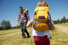 Taking a hike with Alpine 4 backpack from Littlelife
