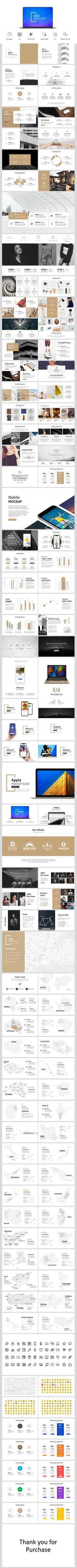 Aces - Minimal Powerpoint Template - PowerPoint Templates Presentation Templates