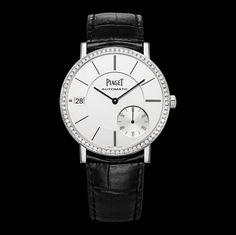 White gold Ultra-thin date Watch G0A39138 - Piaget Luxury Watch Online