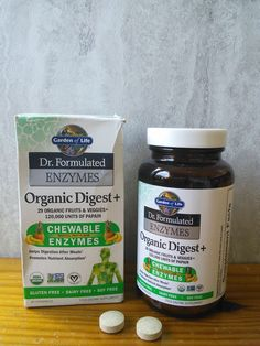 Mom Knows Best : Dr. Formulated Organic Digest+ Helps Me Get The Most Nutrition Out Of My Food & A Giveaway