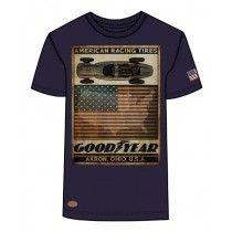 Goodyear Men Comfort T-Shirt Robertson (Navy) | 400616-3008