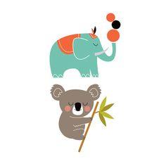 Animals http://www.birdsinbubbles.com/brand/tattyoo