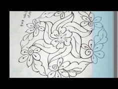 Design Discover small flower 5 x 9 Free Hand Rangoli Design, Rangoli Border Designs, Rangoli Designs With Dots, Rangoli Designs Images, Rangoli Designs Diwali, Rangoli With Dots, Beautiful Rangoli Designs, Simple Rangoli, Diy Embroidery Patterns