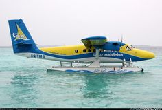 Taxiing out in to open water for take-off taking holidaymakers back to Male, a 45 minute flight away for connecting flights. Trans Maldivian Airways - TMA De Havilland Canada DHC-6-300 Twin Otter 	 Off-Airport - Meedhupparu Island Maldives, March 18, 2014