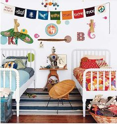 jenny lind twin bed shared room    Picture 8 by hollanddina, via Flickr