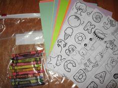 Preschool Activity Bags