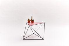 3 X60° – zwart/roze