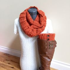 A personal favorite from my Etsy shop https://www.etsy.com/listing/462148938/ready-to-ship-boot-cuffs-with-infinity