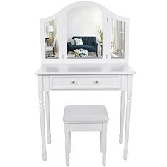 Songmics chic 3 foldable mirrors Dressing Table Set with ... https://www.amazon.co.uk/dp/B0105DBS3Y/ref=cm_sw_r_pi_dp_x_LNaGybS466MP6