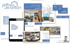 Branding Package for Jeffery Sefton, including Buyers and Sellers Guides, Feature Sheets, Business Card, Mail Out, Postcard, REALTOR Logo, and Stationary.  #Vancouver #RealEstate #Buyers #Sellers #Brochure #FeatureSheet #Businesscard #Stationary #Mailout #Postcard #notepad #REALTOR #Logo