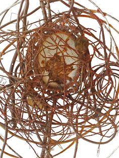 Found Object Industrial Zen Wall Sculpture / Bird by StudioDitties Brutalist, Wall Sculptures, Zen, Objects, Industrial, Bird, Unique Jewelry, Handmade Gifts, Vintage