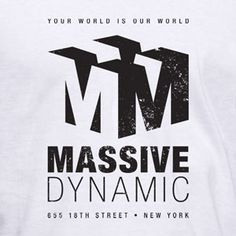 "Massive Dynamic – your world is our world – 655 18th street – New york. This tribute t-shirt is inspired by the TV-show ""Fringe"". $19.99 #tshirt"