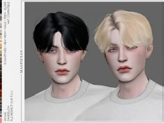 magpiesan's Dandelion Hair Sims 4 Men Clothing, Sims 4 Male Clothes, Maxis, Mods Sims 4, Bts Hairstyle, Sims 4 Hair Male, Sims 4 Tsr, Sims New, Mod Hair