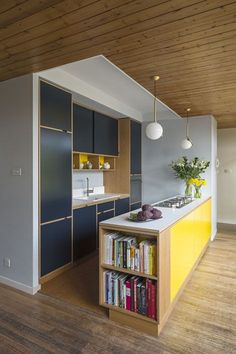 Uncommon Projects Oak Plywood Kitchen