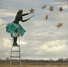 Hang the stars in heaven ...