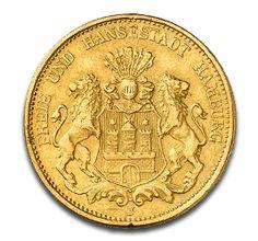 Freie Hansestadt Hamburg, 20 Mark, 7.16g Gold, 1875-1913, Gold, Deutschland, 7.16g | CoinInvest