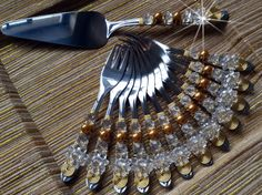 Talheres Bordado para Torta Spoons, Favors, Gifts, Stuff To Buy, Jewelry, Layette, Copper, Crystals, Trays