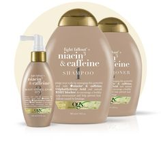 & caffeine Feel more beautiful and in control with the help of this fallout-busting formula blend. A power-packed fusion of niacin and caffeine, this collection can help exfoliate and stimulate your scalp while combatting hair loss. For best resul Hair Remedies For Growth, Hair Loss Remedies, Regrow Hair Naturally, Good Shampoo And Conditioner, Hair Scalp, Shampoo For Hair Loss, Curl Shampoo, Hair Growth Shampoo, Dry Scalp