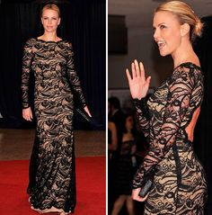 I wouldn't recommend this for Kelly Clarkson, but Charlize can certainly pull it off.