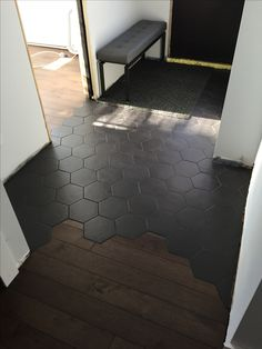 Tile hexagone Tile hexagone Floor floor tiles in india Home Renovation, Home Remodeling, Floor Design, Tile Design, My Dream Home, Home Deco, Home Interior Design, Home Projects, Building A House