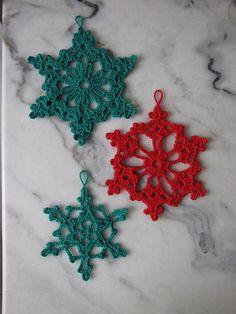 Ravelry: gabyv's Snowflakes - Chain Loop Snowflake
