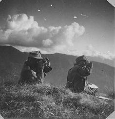 "Division ""Edelweiss"" - battle for Caucasus. BTL Commander Obstl de Temple and Abbey views in the Ashaiatal 1942"