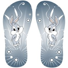Estampa para chinelo Looney Tunes 000836