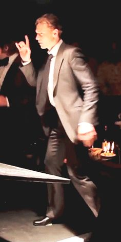 Tom Hiddleston dancing. TBT of High-Rise (https://www.youtube.com/watch?v=s4w3kuC8L8w )