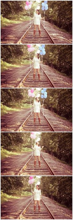 gender reveal photography.  Baby #2! Lol