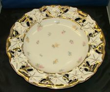 "C.T.-CARL TIELSCH  GERMANY   12"" RETICULATED PLATE"