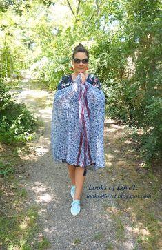 Sommeroutfit mit Kleid